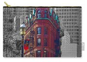 Toronto Flat Iron Building Version 2 Carry-all Pouch