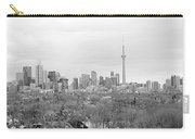 Toronto In Black And White Carry-all Pouch