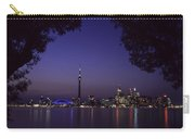 Toronto Skyline At Night Carry-all Pouch