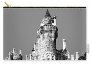 Toronto Skyline Casa Loma - Pewter Carry-all Pouch