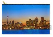 Toronto Skyline Panorama Carry-all Pouch