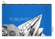 Toronto Skyline Royal Ontario Museum - Blue Carry-all Pouch