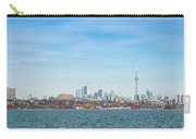 Toronto Skylines At The Waterfront Carry-all Pouch
