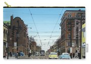 Toronto Yonge And Bloor 1954 Carry-all Pouch