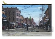 Toronto Yonge And College 1916 Carry-all Pouch