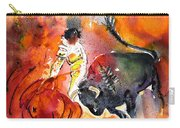 Bullfighting The Reds Carry-all Pouch