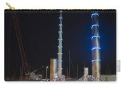 Torquay Harbour Footbridge At Night Carry-all Pouch