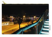 Torquay Royal Terrace Gardens Steps At Night Carry-all Pouch