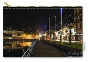 Torquay Victoria Parade At Night Carry-all Pouch