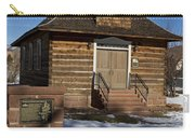 Torrey Log School And Church Utah Carry-all Pouch