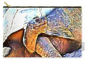 Tortoise Gouache Carry-all Pouch