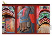 Totem 3 Carry-all Pouch by Theresa Tahara