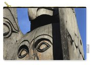 Totem Pole 7 Carry-all Pouch