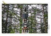 Totem Pole Of Southeast Alaska Carry-all Pouch by Robert Bales