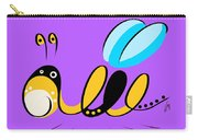 Thoughts And Colors Series Bee Carry-all Pouch