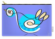 Thoughts And Colors Series Bird Carry-all Pouch