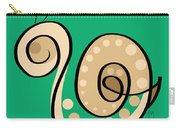 Thoughts And Colors Series Snail Carry-all Pouch