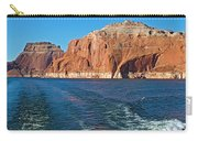 Tour Boat Wake In Lake Powell In Glen Canyon National Recreation Area-utah  Carry-all Pouch