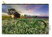 Tour De France Carry-all Pouch by Debra and Dave Vanderlaan