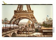 Tour Eiffel And Exposition Universelle Paris Carry-all Pouch