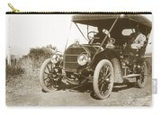 Touring Car On The Road California 1906 Carry-all Pouch