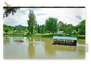 Tourist Raft Being Towed On River Kwai In Kanchanaburi-thailand Carry-all Pouch