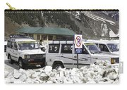 Tourist Vehicles Parked At The No Parking Sign In Sonmarg Carry-all Pouch