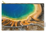 Tourists At Grand Prismatic Carry-all Pouch