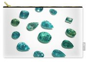 Tourmaline Paraiba Carry-all Pouch