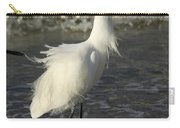 Tousled Egret Carry-all Pouch