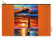 Towards The Sun - Palette Knife Oil Painting On Canvas By Leonid Afremov Carry-all Pouch
