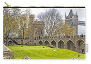 Tower Bridge And London Tower Carry-all Pouch