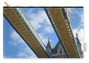 Tower Bridge Carry-all Pouch by Christi Kraft