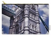 Tower Bridge London Carry-all Pouch by Mariola Bitner