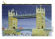 Tower Bridge Skating On Thin Ice Carry-all Pouch