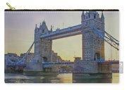 Tower Bridge Sunrise Carry-all Pouch