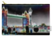 Tower Bridge Surrealism Carry-all Pouch
