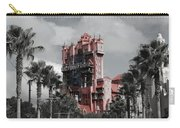 Tower Of Terror  In Color Carry-all Pouch