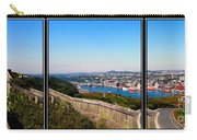 Tower Over The City Triptych Carry-all Pouch