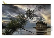 Tower Rock In The Mississippi River Carry-all Pouch