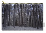 Towering Trees Over Ferns In Blue Carry-all Pouch