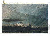 Town At Dusk Carry-all Pouch by Victor Hugo