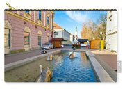 Town Of Bjelovar Square Fountain Carry-all Pouch