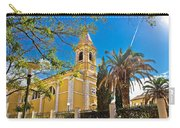 Town Of Novalja Church Pag Island Carry-all Pouch