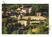 Town Of Sisteron In Provence Carry-all Pouch