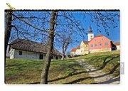 Town Of Varazdinske Toplice Center Park Carry-all Pouch