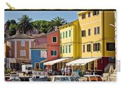 Town Of Veli Losinj Colorful Waterfront Carry-all Pouch