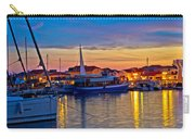 Town Of Vodice Harbor And Monument Carry-all Pouch