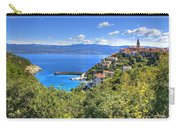 Town Of Vrbnik Green Landscape Carry-all Pouch