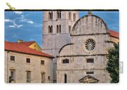 Town Of Zadar Historic Church Carry-all Pouch